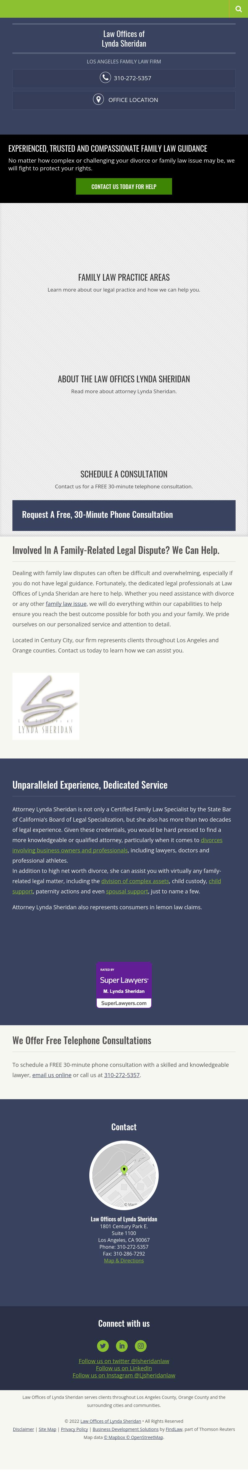 Law Offices of Lynda Sheridan - Los Angeles CA Lawyers