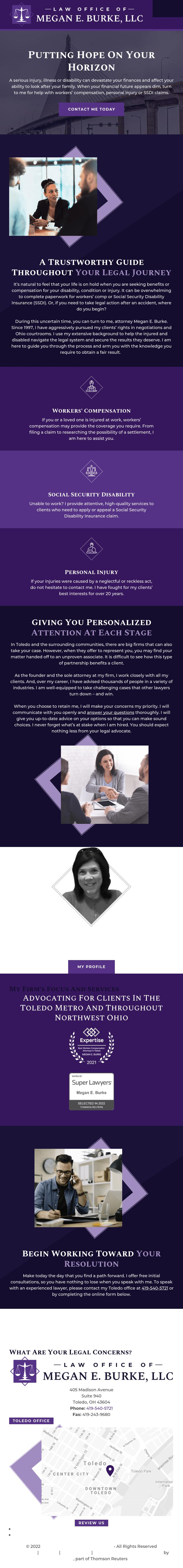 Law Offices of Megan Burke LLC - Toledo OH Lawyers