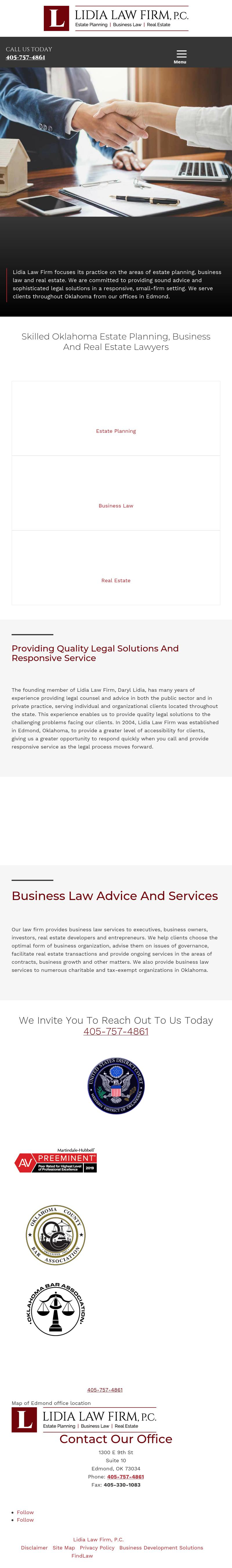 Lidia Law Firm - Edmond OK Lawyers