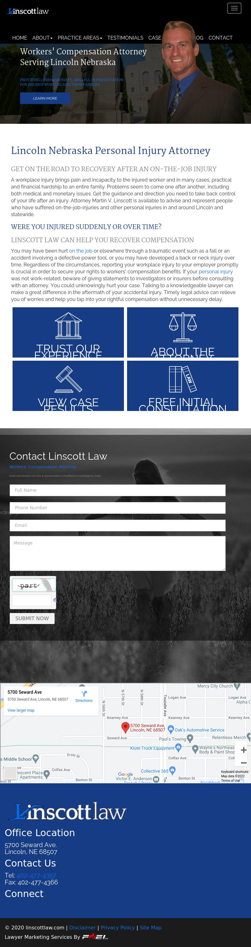 Martin Linscott - Lincoln NE Lawyers