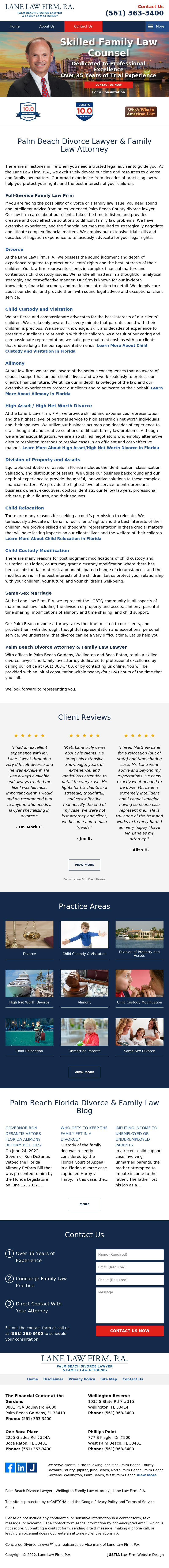 Matthew Lane & Associates, P.A. - Wellington FL Lawyers