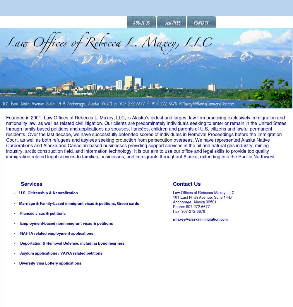 Maxey Rebecca L Law Offices Of Llc - Anchorage AK Lawyers