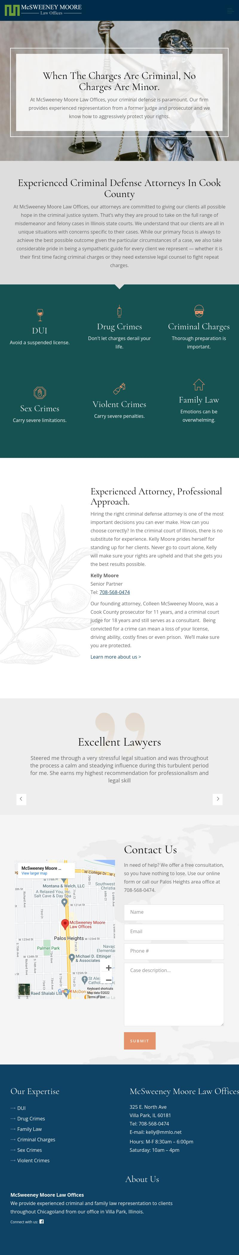 McSweeney Moore Law Offices - Palos Heights IL Lawyers