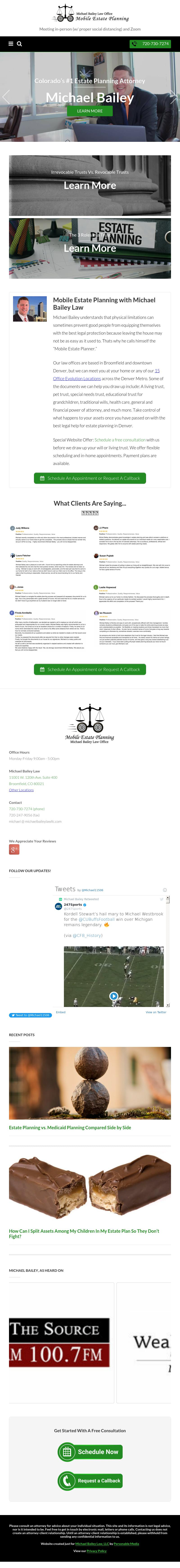 Michael Bailey Law Office LLC - Denver CO Lawyers