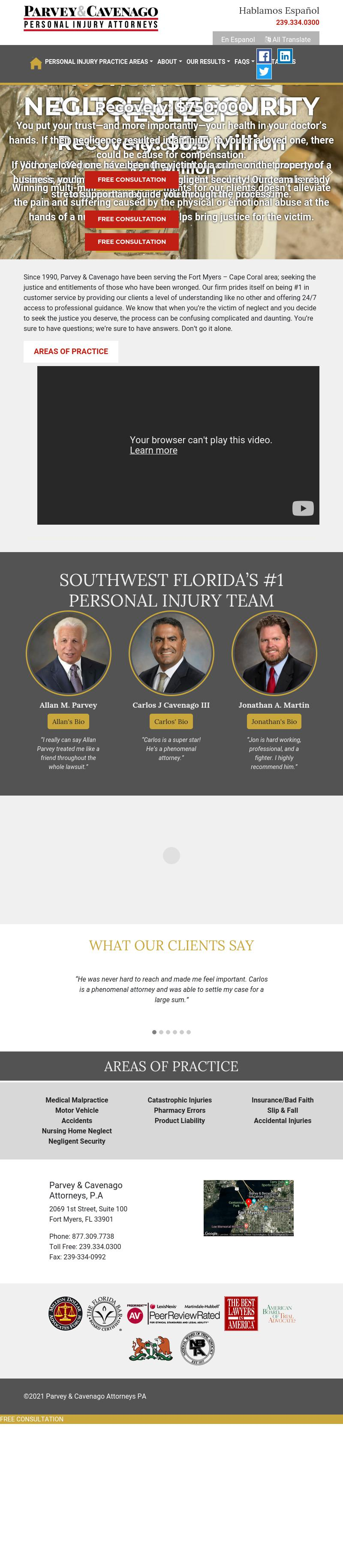Parvey & Frankel Attorneys, P.A. - Fort Myers FL Lawyers