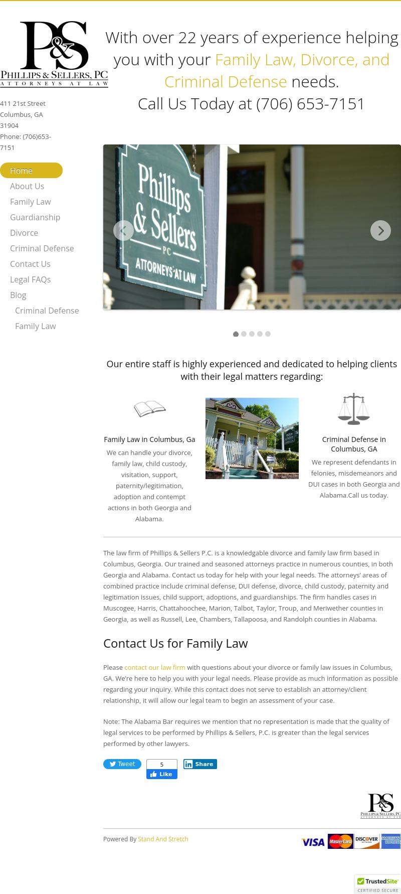 Phillips & Sellers PC - Columbus GA Lawyers