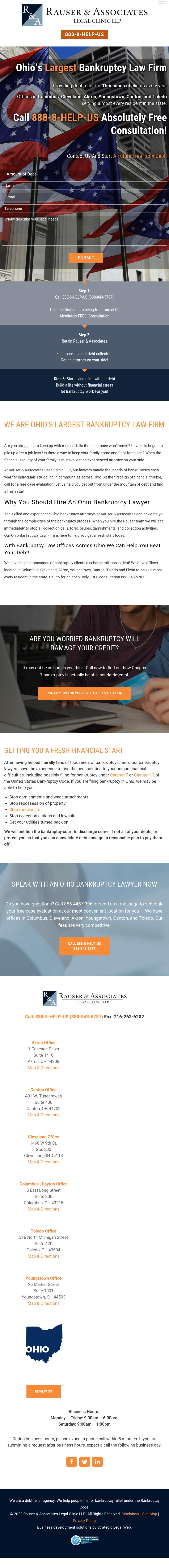 Rauser And Associates - Cleveland OH Lawyers