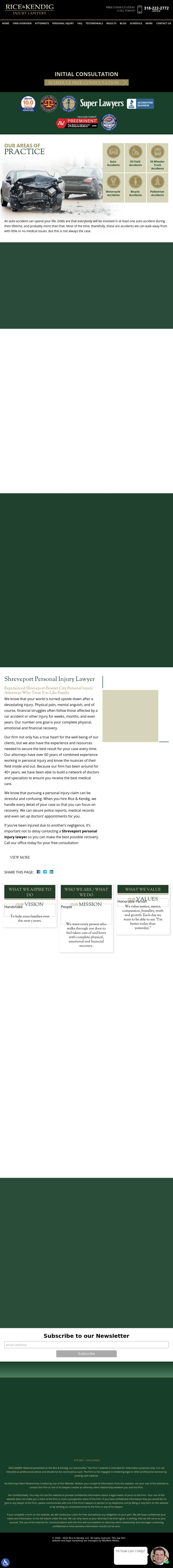 Rice & Kendig - Shreveport LA Lawyers