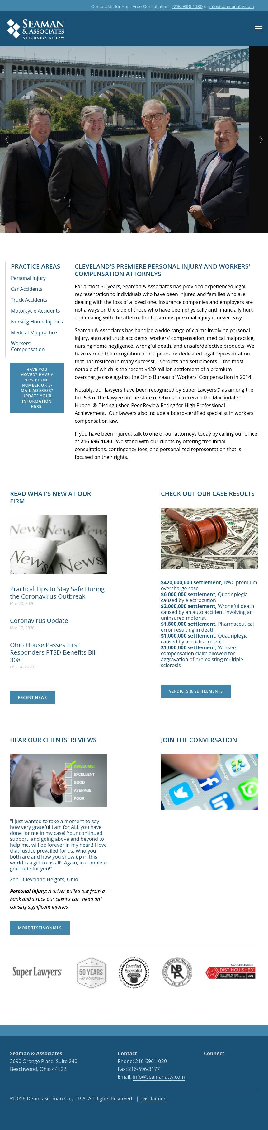Seaman & Associates Co LPA - Cleveland OH Lawyers