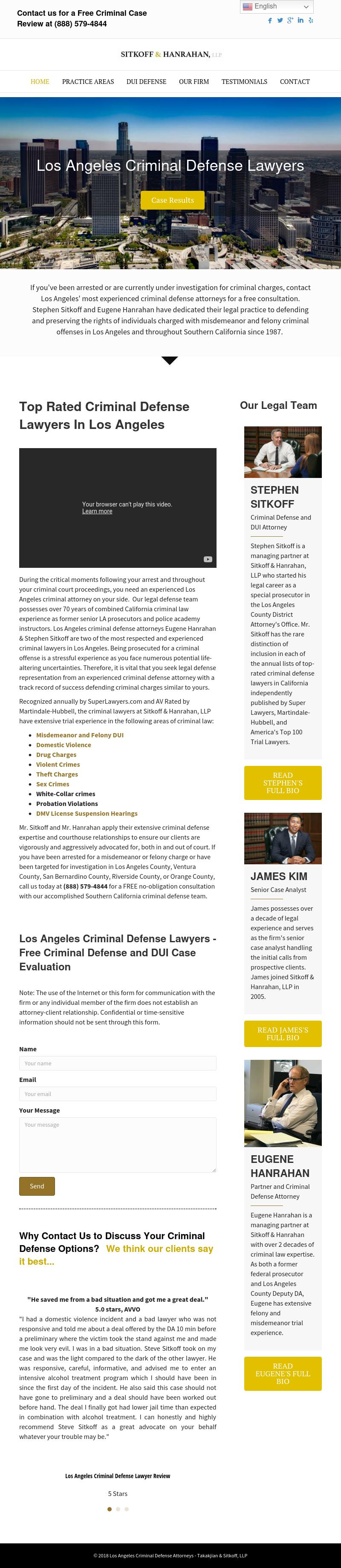Takakjian & Sitkoff, LLP - Los Angeles CA Lawyers