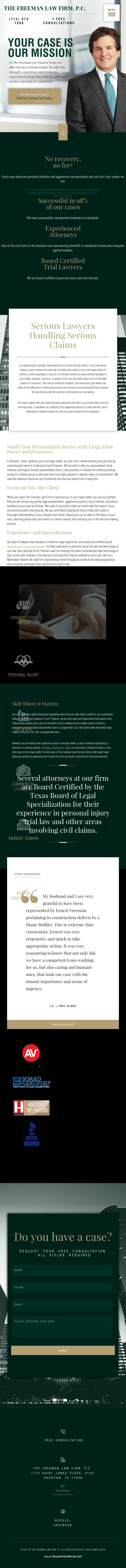 The Freeman Law Firm, P.C. - Houston TX Lawyers