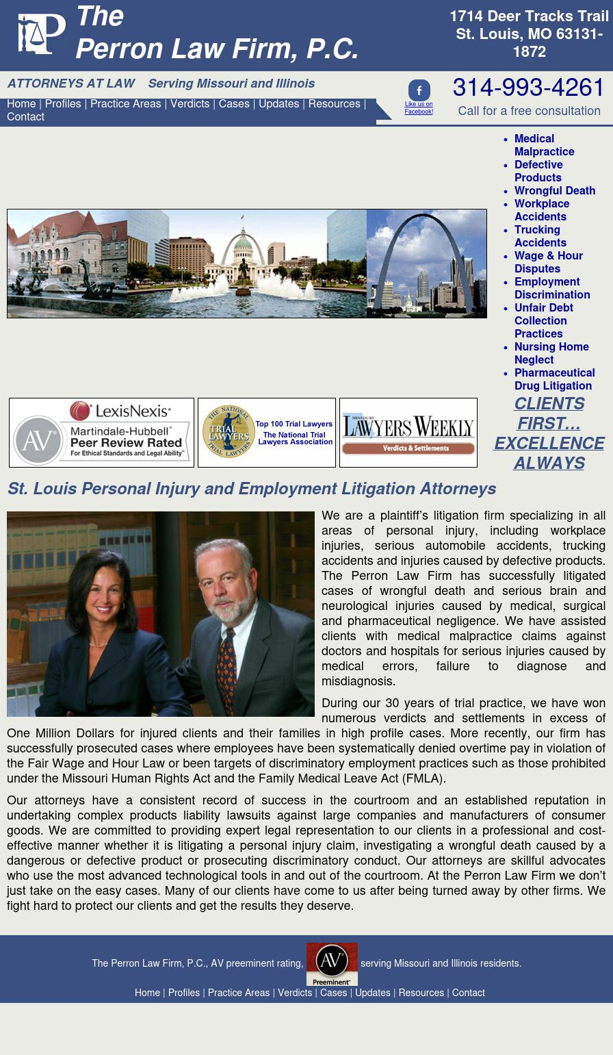 The Perron Law Firm, P.C. - St. Louis MO Lawyers