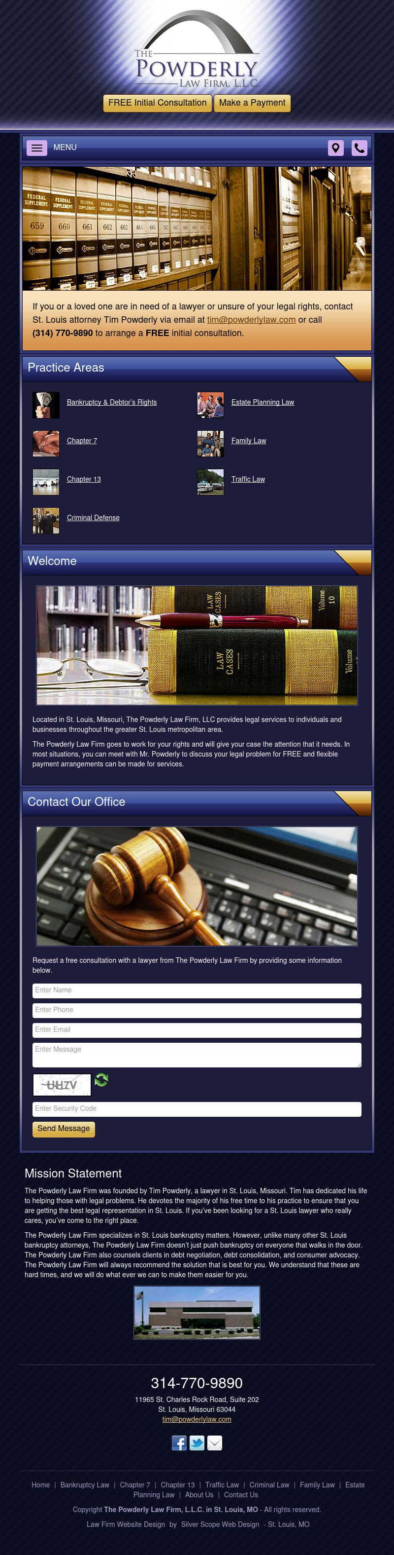 The Powderly Law Firm, L.L.C. - St. Louis MO Lawyers