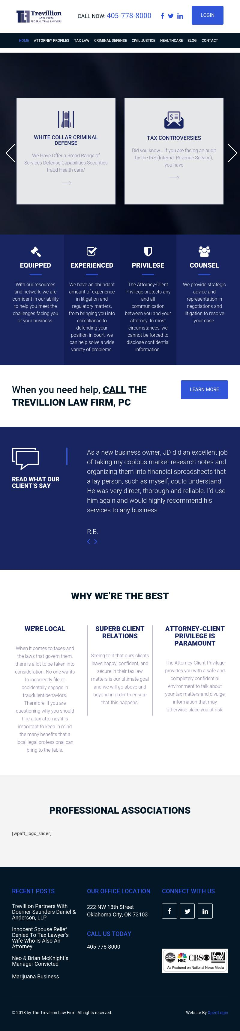 The Trevillion Law Firm - Oklahoma City OK Lawyers