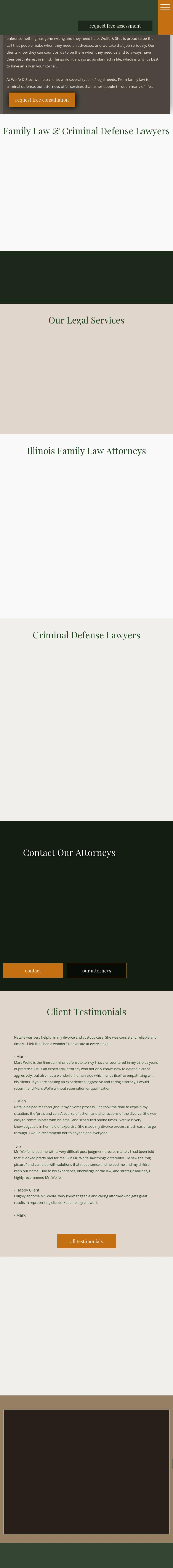 Wolfe & Stec, Ltd. - Chicago IL Lawyers
