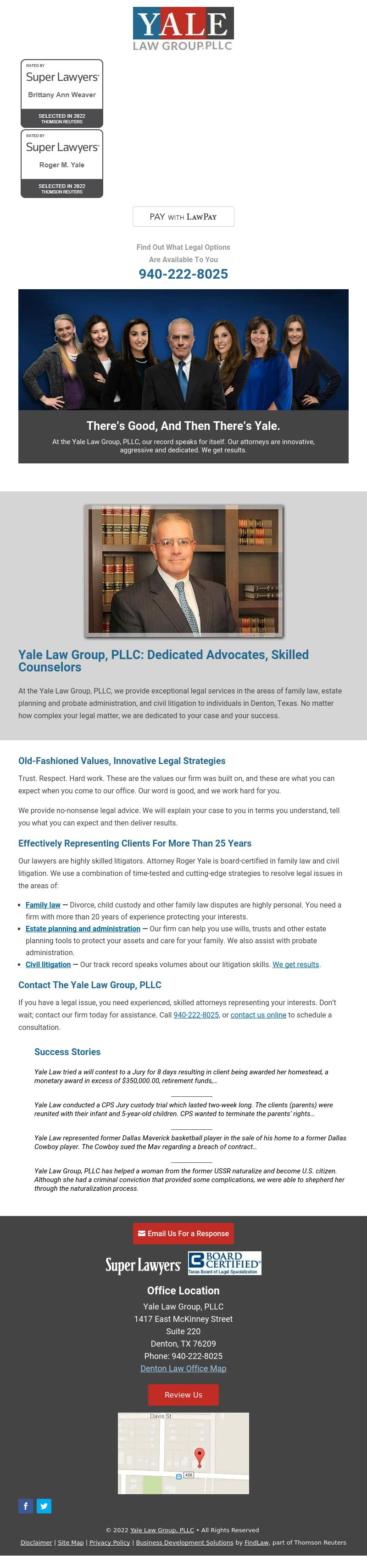 Yale Law Group - Denton TX Lawyers