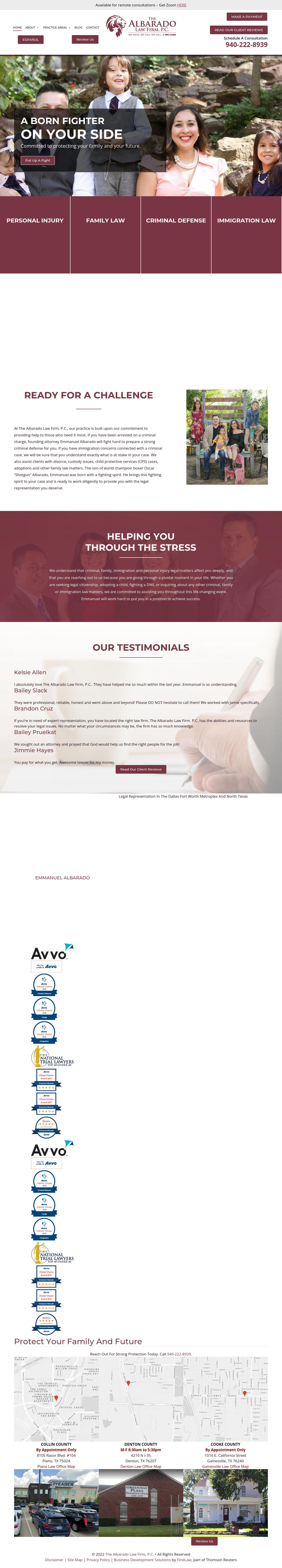 The Albarado Law Firm, P.C. - Denton TX Lawyers