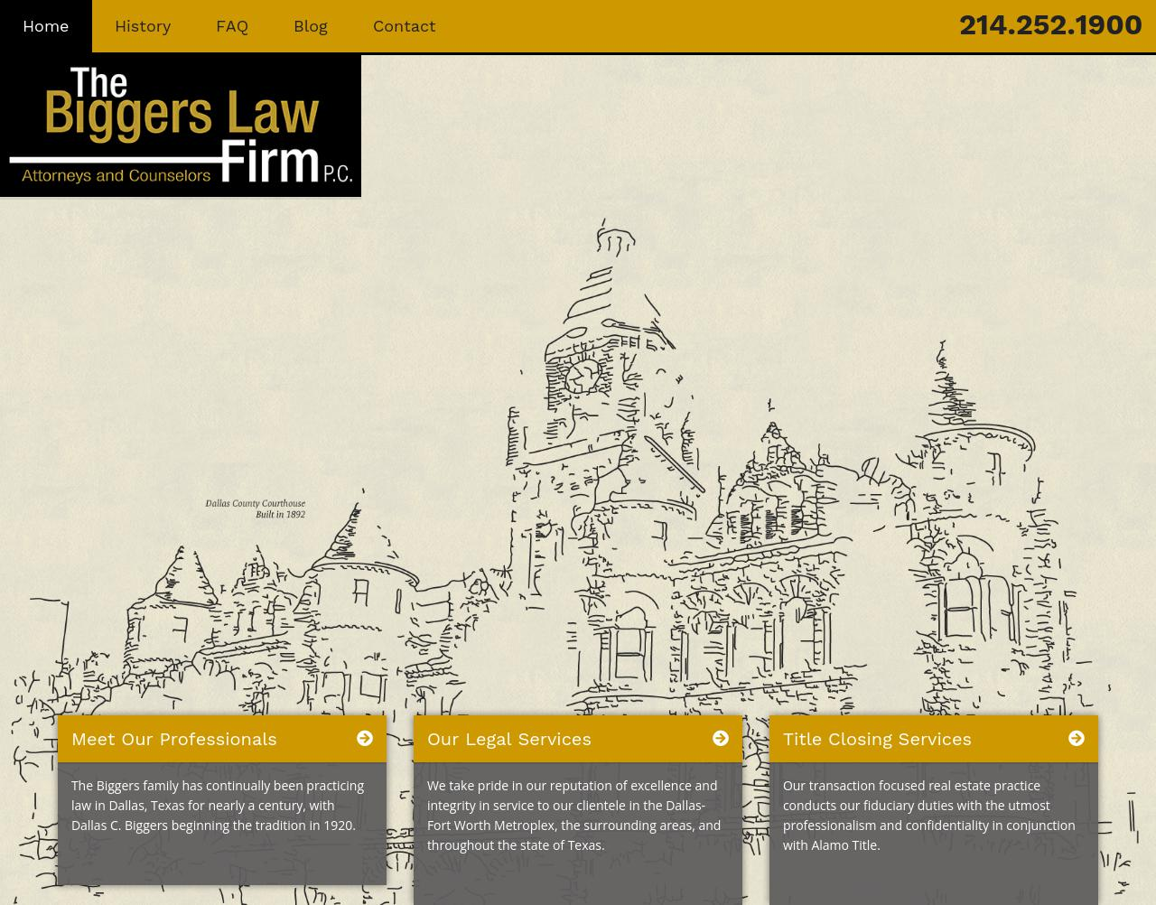 The Biggers Law Firm, P.C. - Dallas TX Lawyers