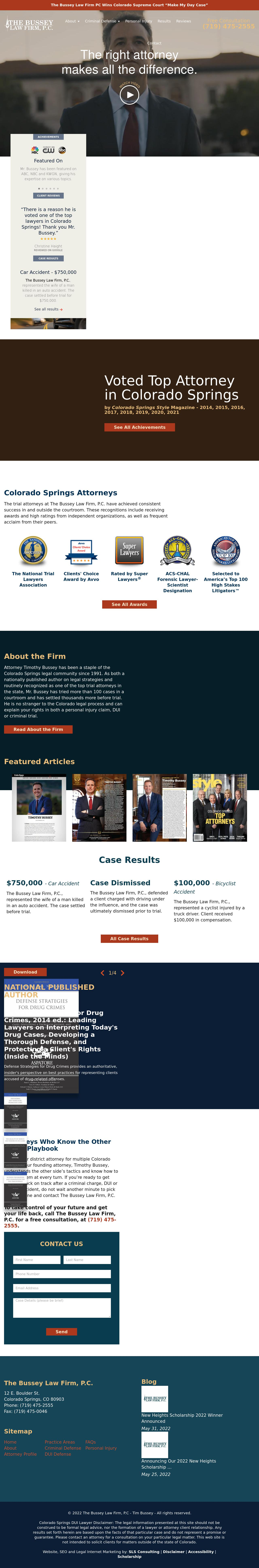 The Bussey Law Firm, P.C. - Colorado Springs CO Lawyers