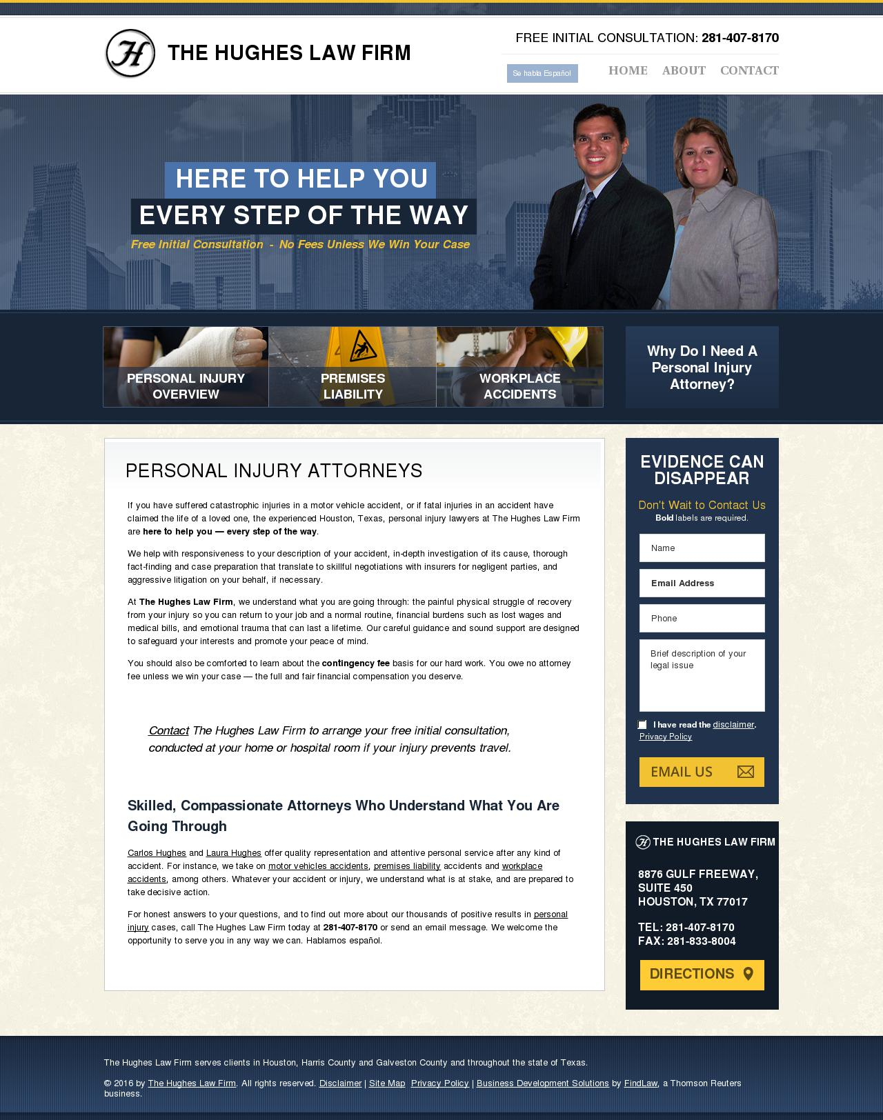 The Hughes Law Firm - Houston TX Lawyers