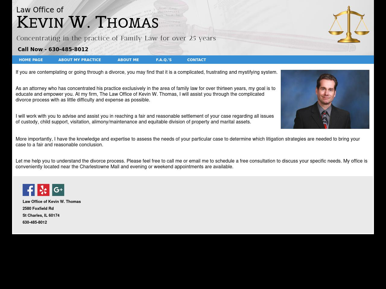 The Law Office of Kevin W. Thomas - Wheaton IL Lawyers