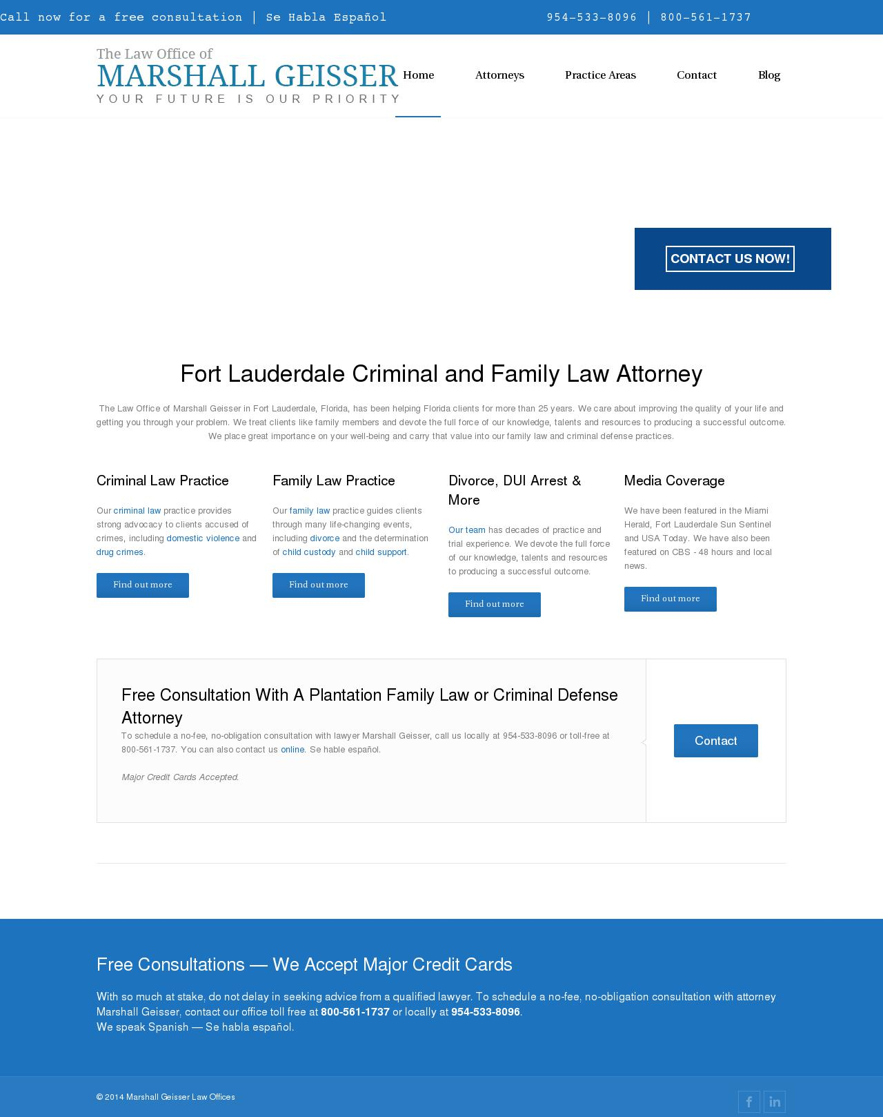 The Law Office of Marshall Geisser - Fort Lauderdale FL Lawyers