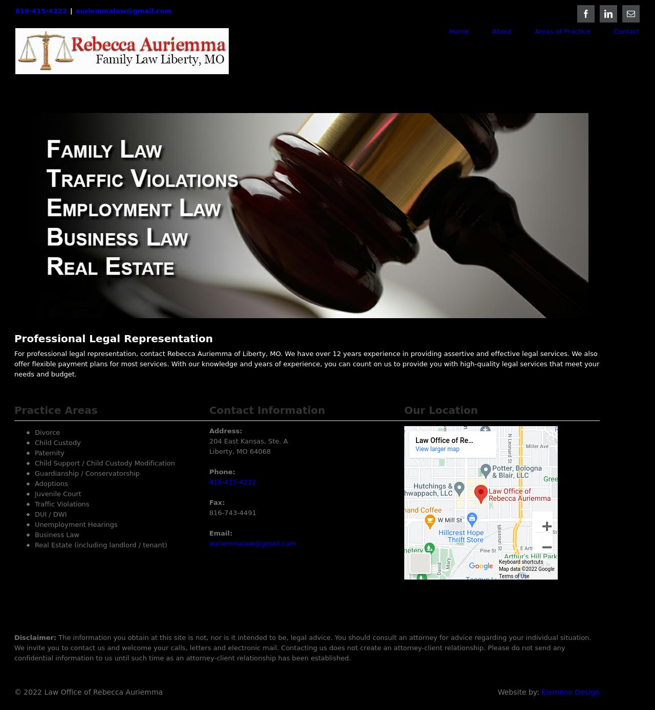 The Law Office of Rebecca Auriemma - Liberty MO Lawyers