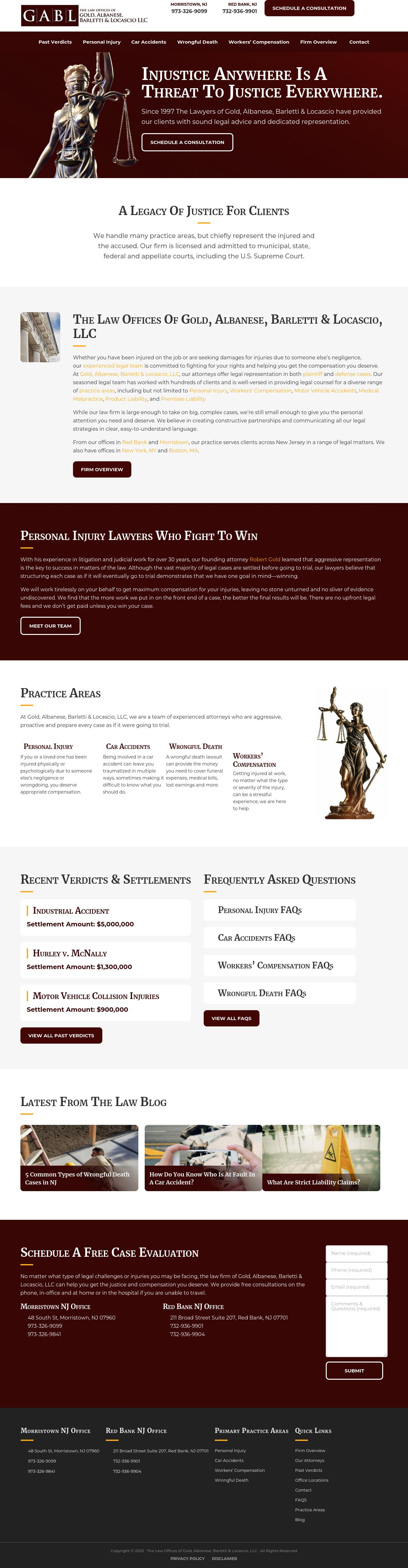 The Law Offices of Gold, Albanese & Barletti - Boston MA Lawyers