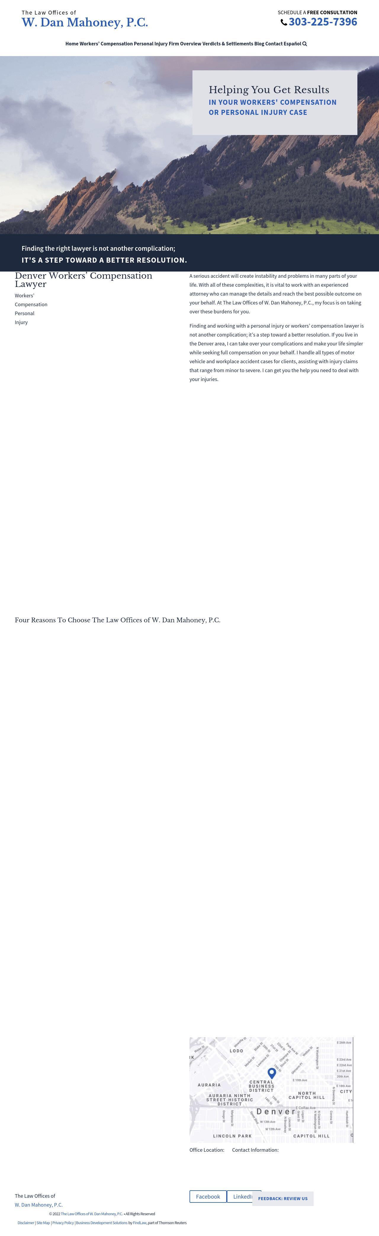 The Law Offices of W. Dan Mahoney, P.C. - Denver CO Lawyers