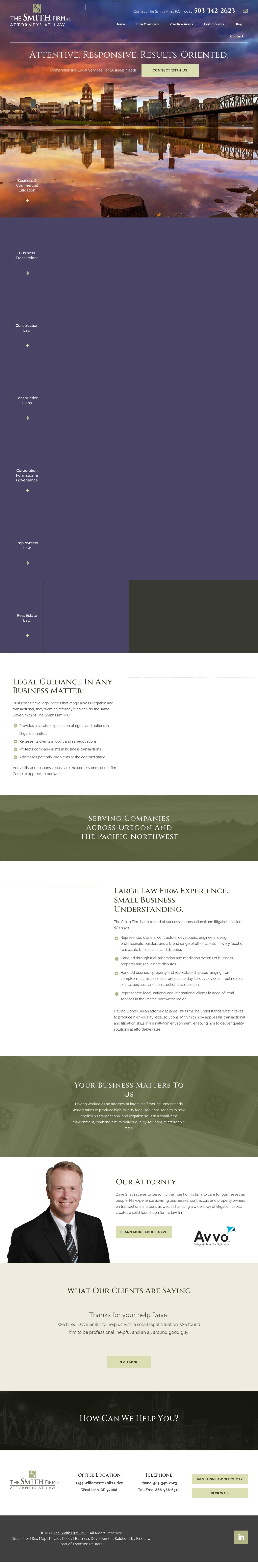 The Smith Firm, PC - West Linn OR Lawyers