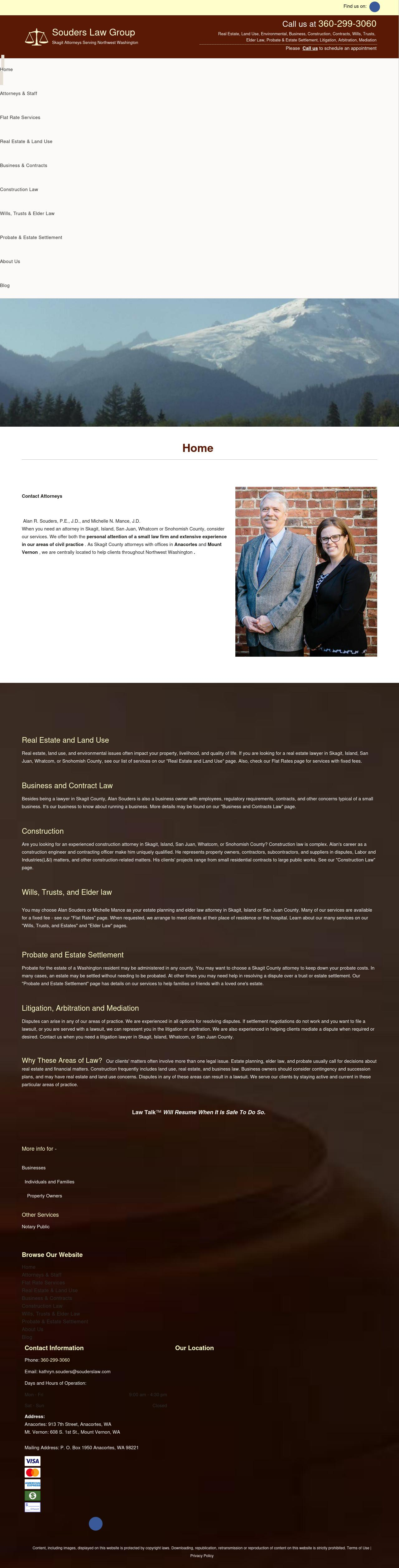 The Souders Law Group - Anacortes WA Lawyers